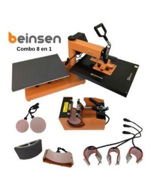 Plancha combo Beinsen JAMAICA 40x50 8 en 1