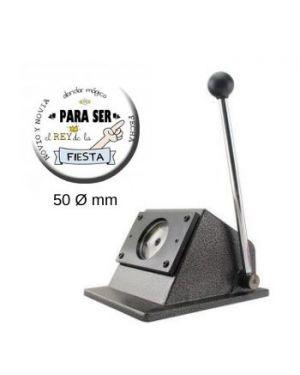 Troqueladora para chapas redondas de 50mm.