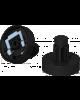 Juego 2 soportes rollo papel plotter Epson F series (SC-F6000)