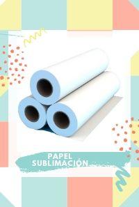 bobina de papel subli