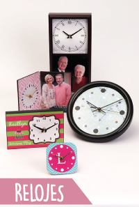 relojes personalizables