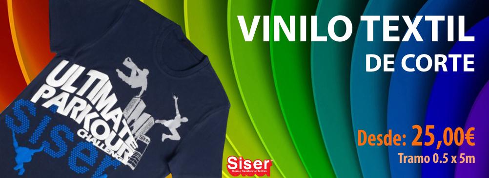 Vinilo textil para corte Siser