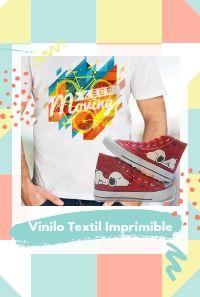 vinilo textil imprimible
